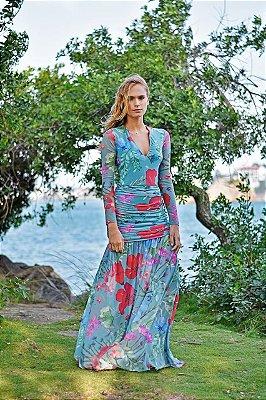Vestido Aline Garden