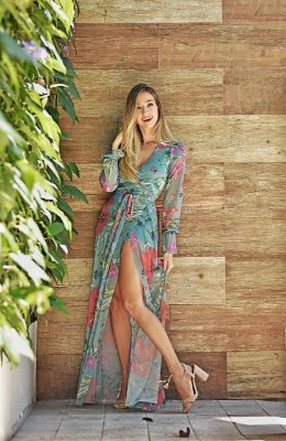 Vestido Ana Garden