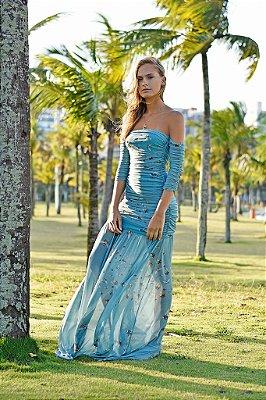 Vestido Rafaela Abelha Verde