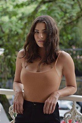 Body Áustria Caramelo