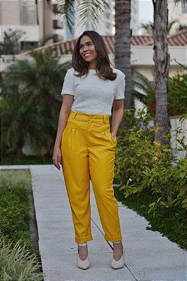 Calça Canário Amarelo