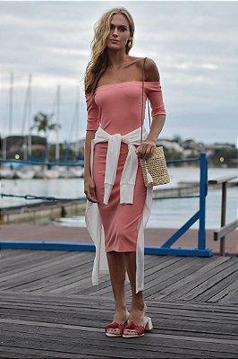 Vestido Cannes Coral