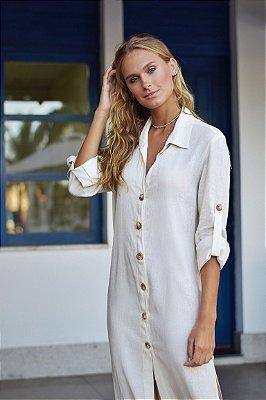 Vestido Bora-Bora Off / White