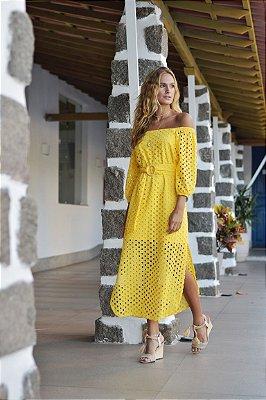Vestido Aruba Amarelo