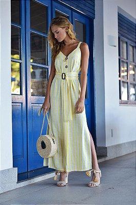 Vestido Sardenha Off / Amarelo