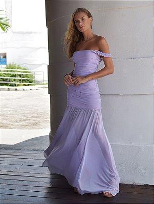 Vestido Monte Carlo Lilás