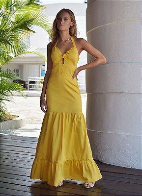 Vestido Barcelona Amarelo