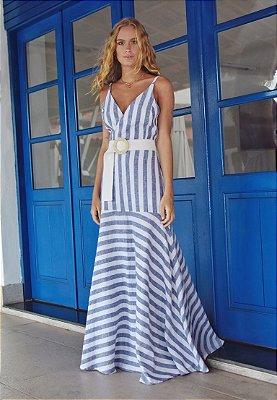 Vestido Italla Off / Marinho