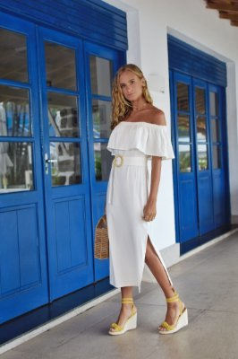 Vestido Casablanca Off White