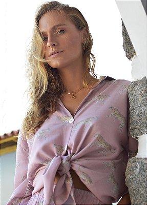 Camisa Kalahari Onça Nude