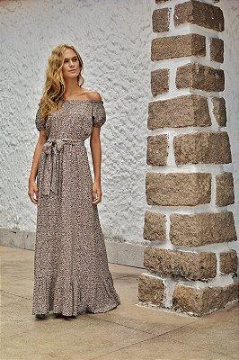 Vestido Savanna Onça