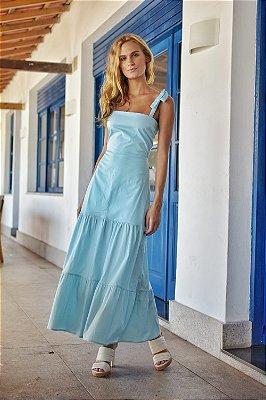 Vestido Algarve Azul