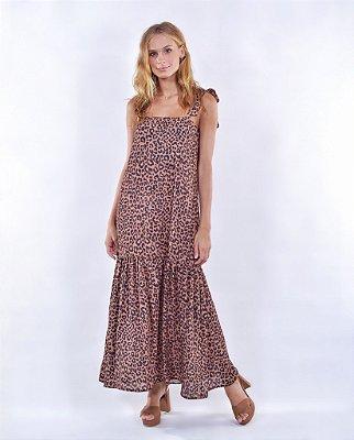 Vestido Lince Onça Brown