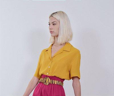 Camisa Cairo Açafrão