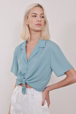 Camisa Cairo Mint