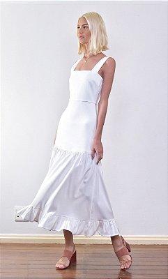 Vestido Valência Off White