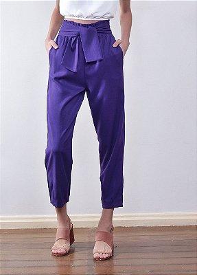 Calça Leblon Púrpura sem Faixa