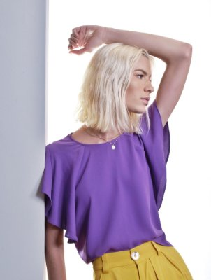 Blusa Gavia Violeta