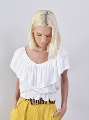 Blusa Mirage Off White