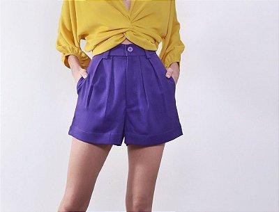 Short Leblon Púrpura