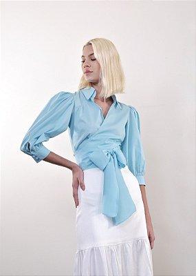 Camisa Espanha Azul