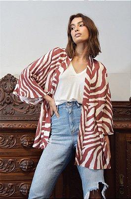 Kimono Durban Marsala