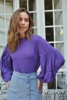 Blusa Butterfly Violeta