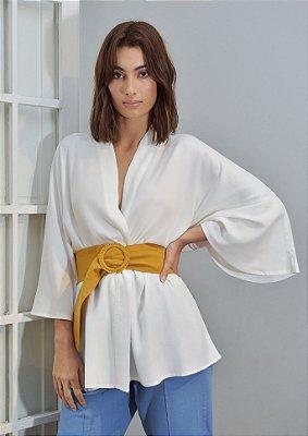 Kimono Gal Off White