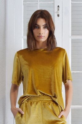 Blusa Dubai Ouro