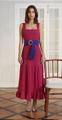 Vestido Valência Marsala