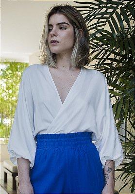 Blusa Stripes Off White