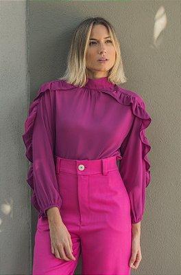 Blusa Holanda Pink