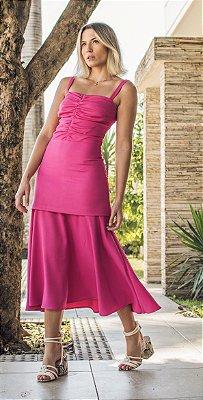 Vestido Hot Pink