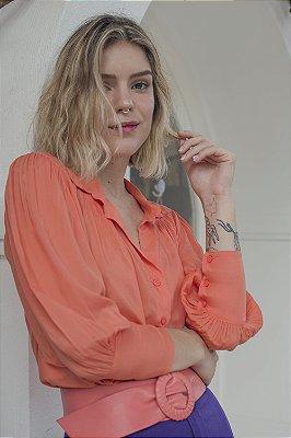Camisa Gardênia Coral