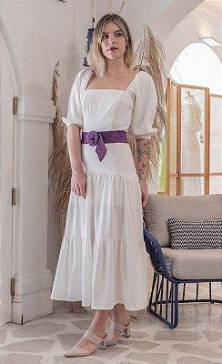 Vestido Leblon New Off White Sem Cinto