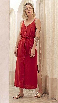 Vestido Rubi Vermelho