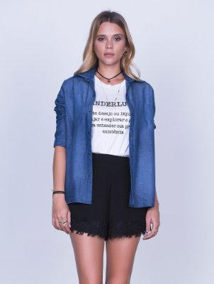 Camisa Denim Lisa