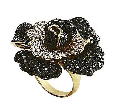 Anel em Ouro  c/ Diamantes   -  cod 01045850
