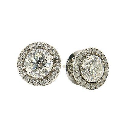 Brinco em Ouro c/ Diamantes  -  cod 02005182