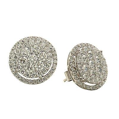 Brinco em Ouro c/ Diamantes  - cod 07045312