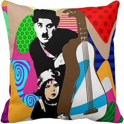 Almofada Charlie Chaplin - CC001