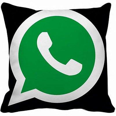Almofada 40x40 - Whatsapp NV005