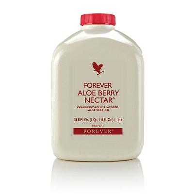 Forever Aloe Berry Nectar, 88% de Aloe Vera mais o Granberry, 1litro