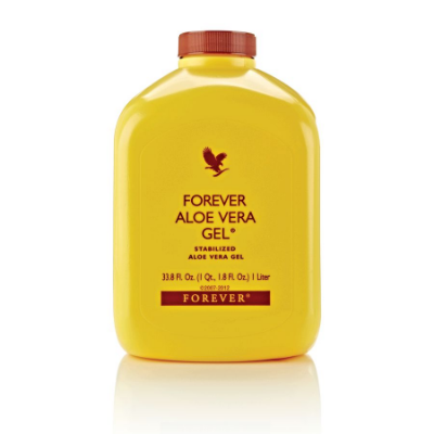 Forever Aloe Vera Gel, Suco de Aloe Vera, 96% de Aloe Vera estabilizado, 1 Litro