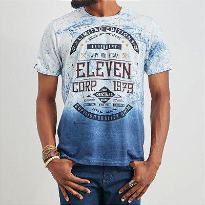 CAMISETA ELEVEN AIR COLOR SILK BLUE