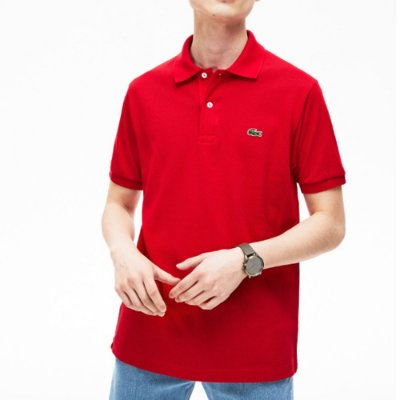 POLO LACOSTE BASIC RED
