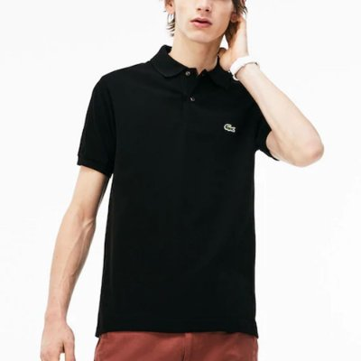 POLO LACOSTE BASIC BLACK