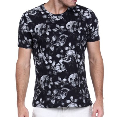 T-SHIRT SKULL KING & JOE DIFERENCIADA
