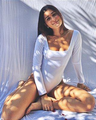Body Princesa Branco