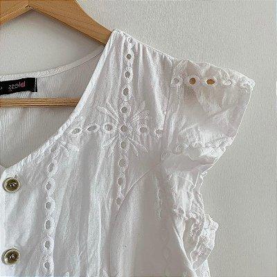Vestido Lese Branco